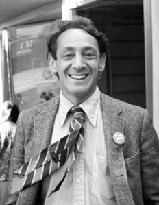 Harvey Milk in the Castro circa 1977. Image courtesy of Daniel Nicoletta.