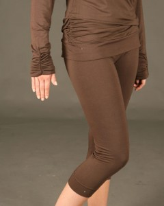 "Brown ""capreggings."" Image courtesy of www.tempusclothing.com"