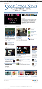 Scot Scoop   The student news site of Carlmont High School in Belmont, California. (1)